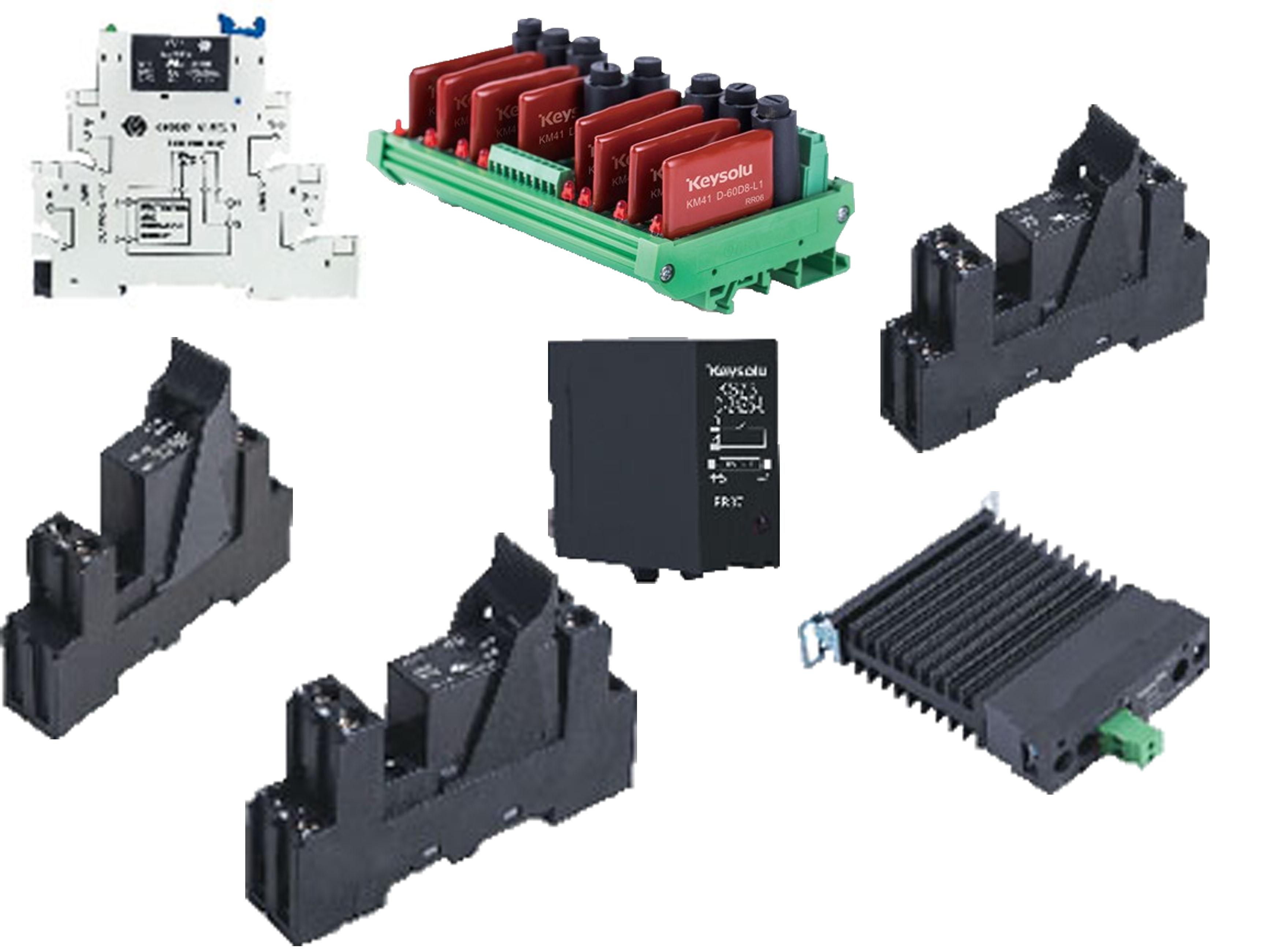導軌安裝-固態繼電器